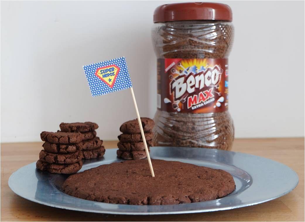 Cookie géant au chocolat intense Benco Max