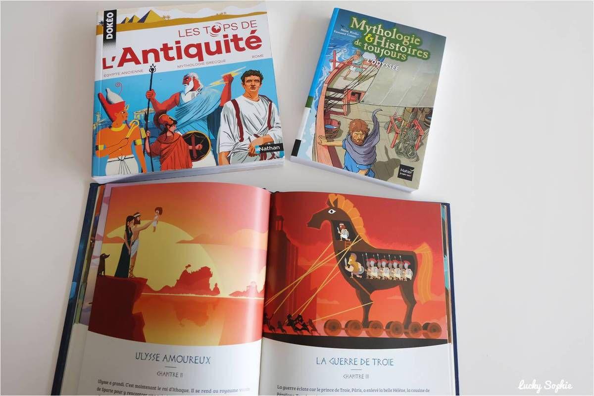 Antiquité, livres sur l'Egypte, Rome et la Mythologie Grecque