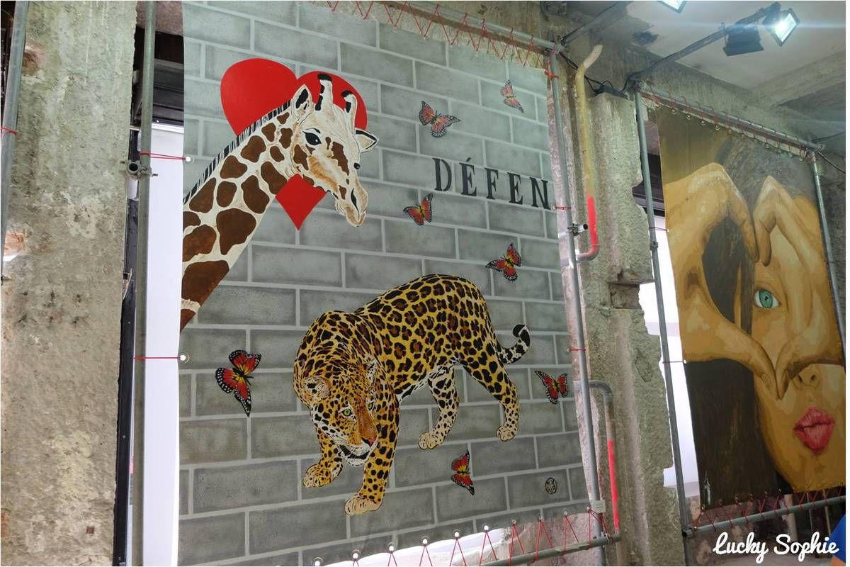 One, two... street art, expo enfants à Lyon !