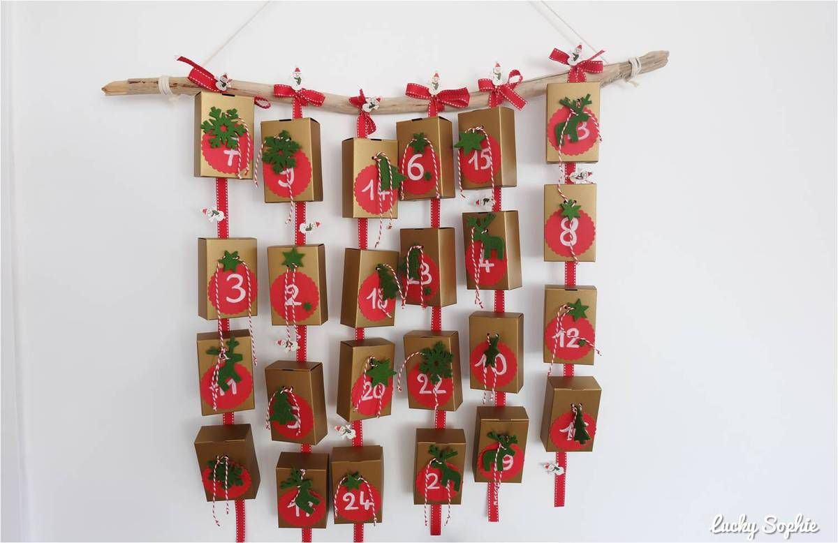 Decoration De Noel Faire Calendrier