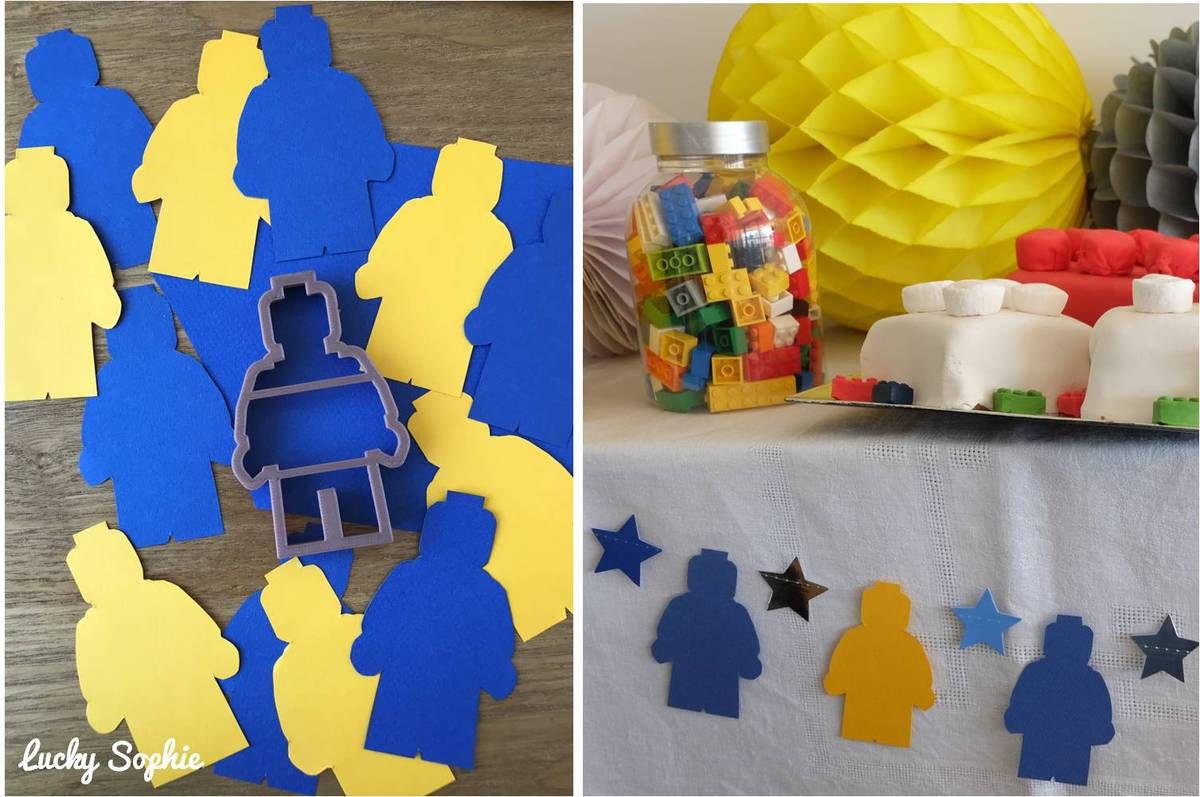 Anniversaire Lego Invitation Jeux Et Goûter Lucky Sophie