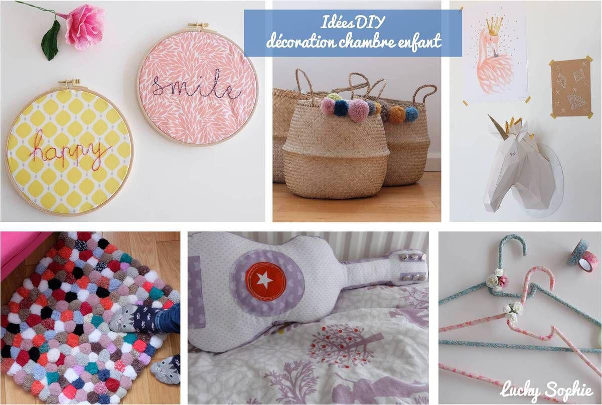 Idees Diy Decoration Pour Chambre D Enfant Lucky Sophie Blog Maman