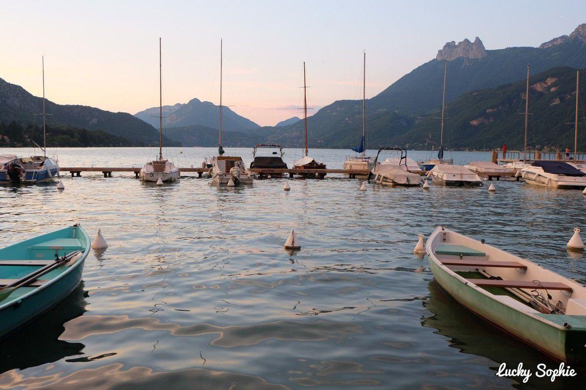 Vacances en camping au lac d 39 annecy lucky sophie blog - Camping lac d annecy avec piscine ...