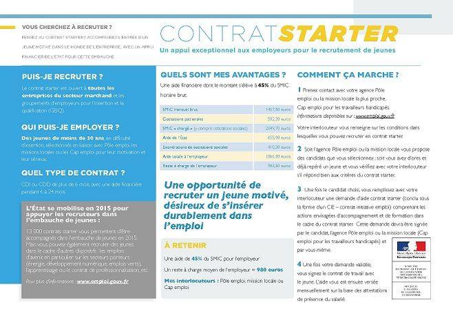 """Contrat CUI CIE """"Starter"""""""