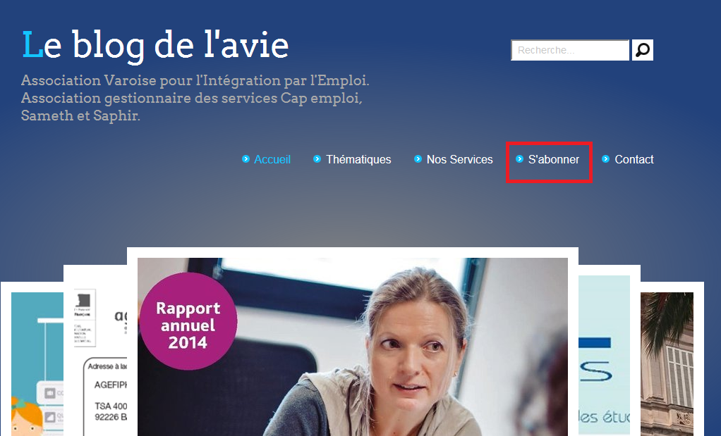 Comment s'abonner au Blog de l'Avie (tutoriel)