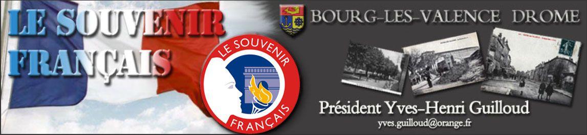 Bourg-lès-Valence, HIPPOLYTE, le Poilu, lance la cérémonie de l'Armistice du 11 novembre 2015.