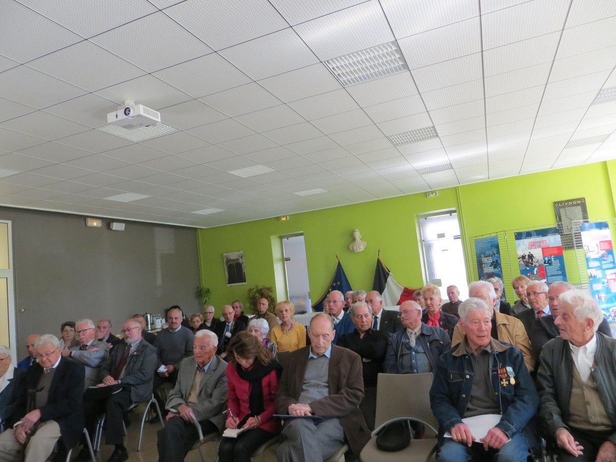 Assemblée Générale Fédération des Unités F.F.I/Drôme et de la Mémoire de la Résistance. avril 2016