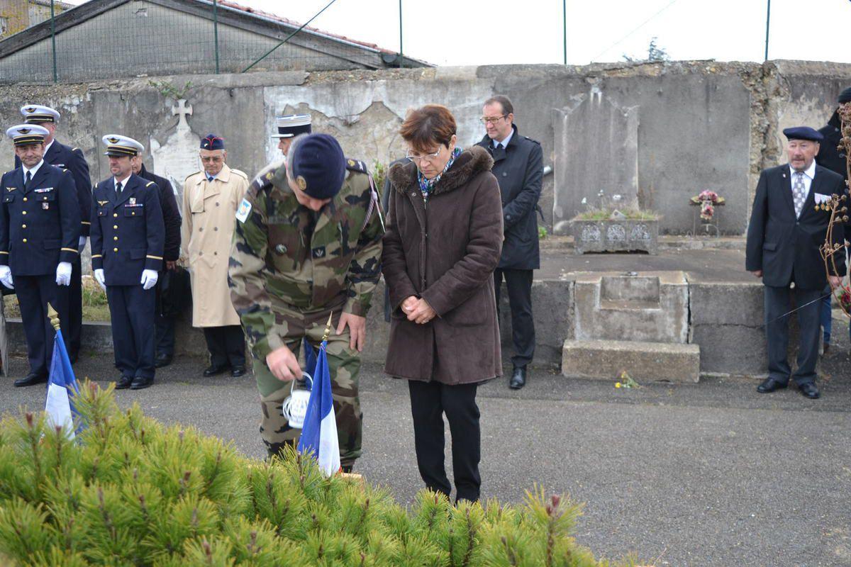 Bourg-lès-Valence, Cérémonie d'hommage au soldat français, MDLChef Fabien JACQ tué au Mali. novembre 2016