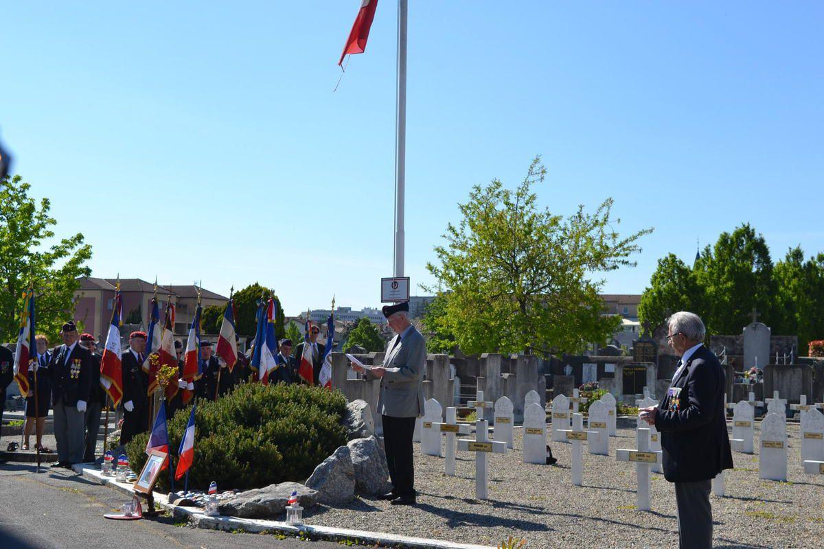 Bourg-lès-Valence, Cérémonie d'Hommage au Caporal-chef Julien BARBE tué au Mali. avril 2017