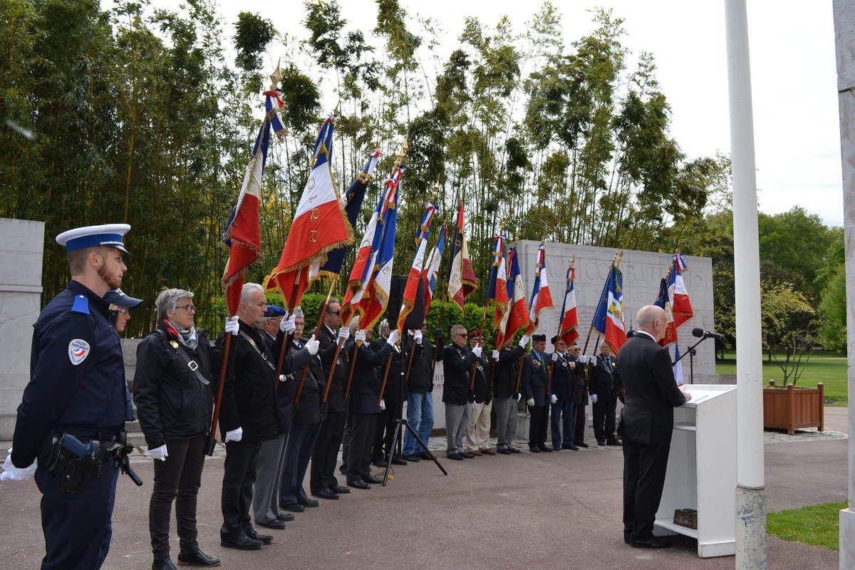 Valence, Journée Nationale du Souvenir des Victimes et Héros de la Déportation. avril 2017