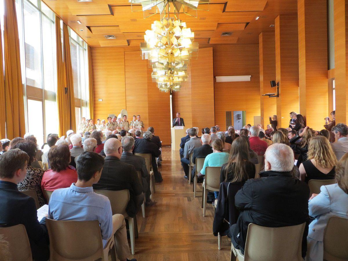 Valence, Remise des prix du concours de la Résistance et de la Déportation à la Préfecture de la Drôme. mai 2017