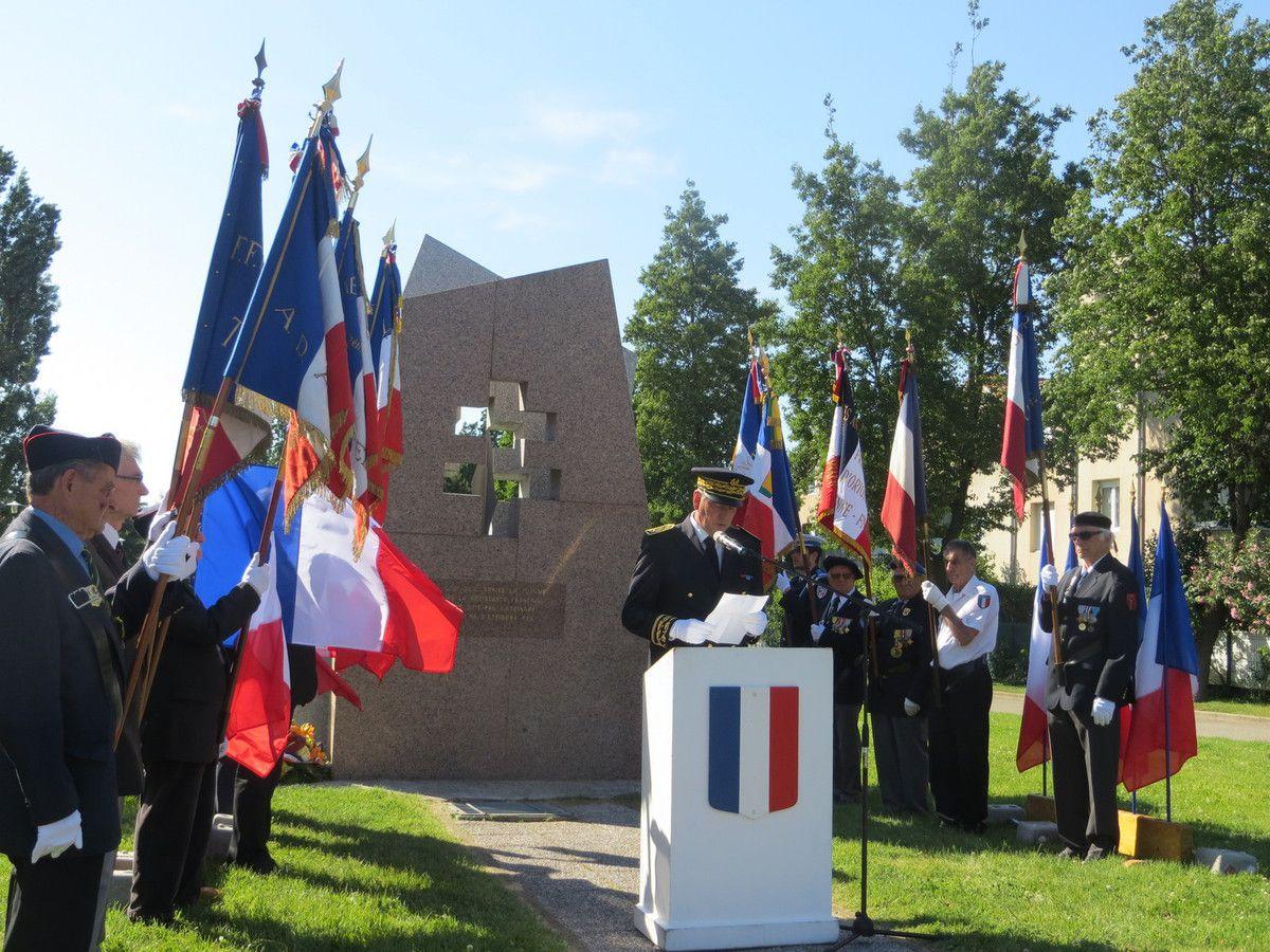 Valence, Journée Nationale de la Résistance. mai 2017