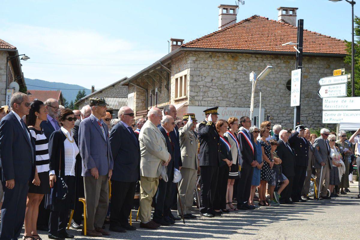 - Office religieux - Cérémonie au Martyrologe - Cérémonie à la Nécropole nationale -
