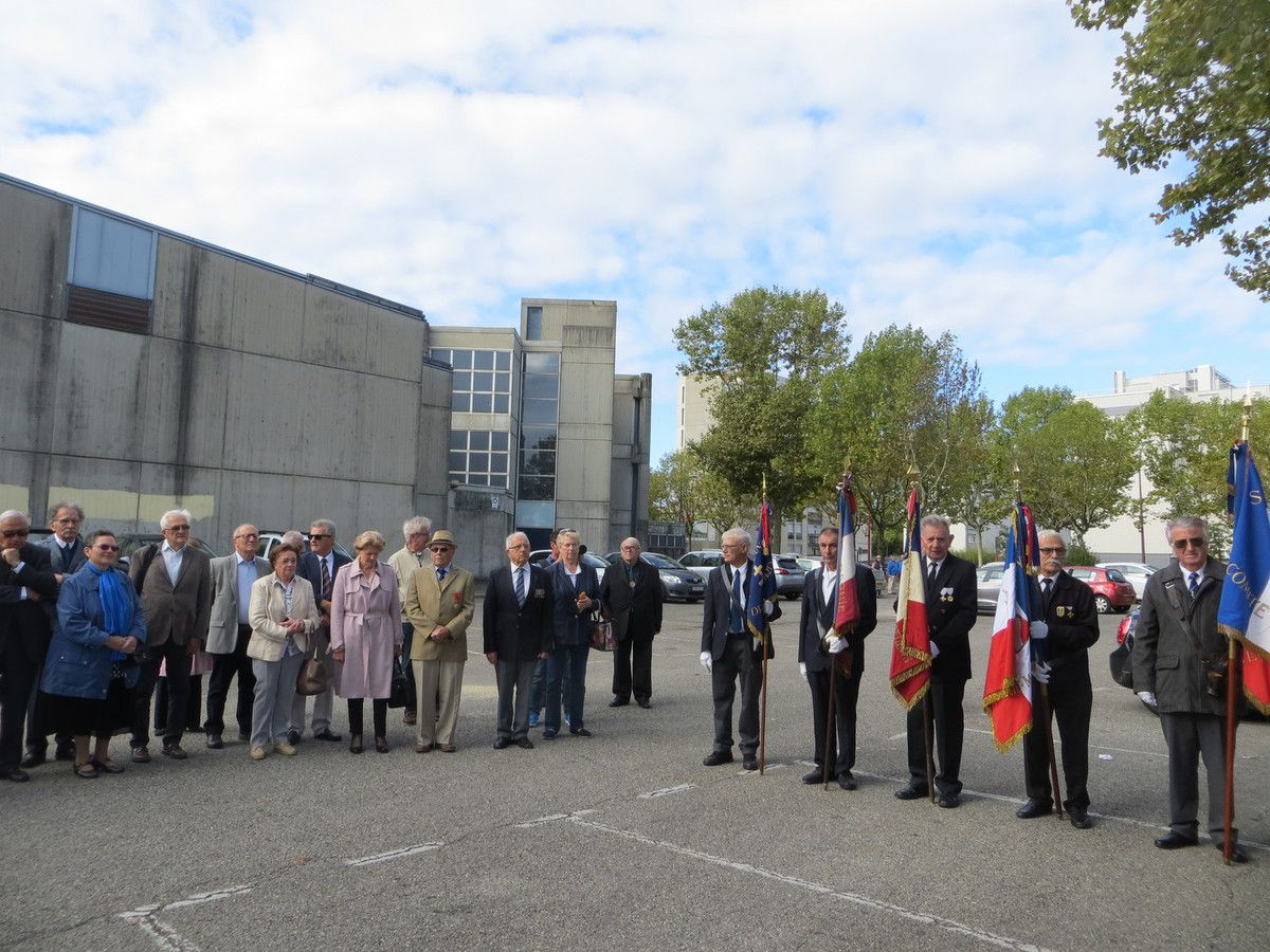 Valence, Inauguration rue Colonel Willy CHAVE, Grand Officier de la Légion d'Honneur, Résistant FFI. septembre 2017