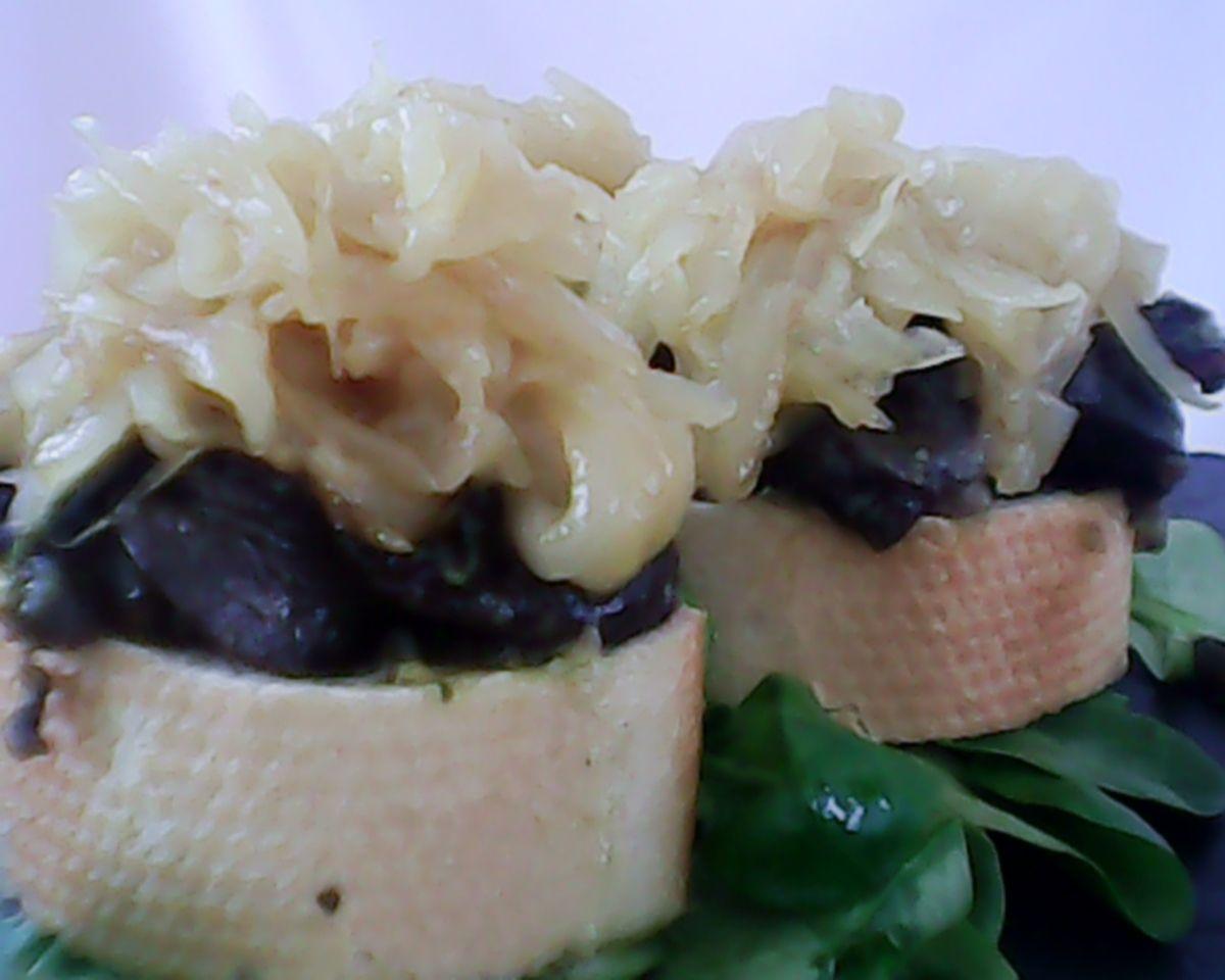 toast aperitif escargot plats sucr sal de sylvie. Black Bedroom Furniture Sets. Home Design Ideas