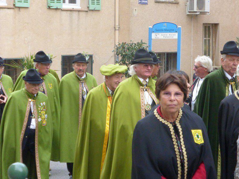 Chapitre de la confrérie de l'Olivado de Provence