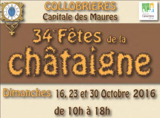 INVITATION Chapitre des CASTAGNAIRES de Colobriaire