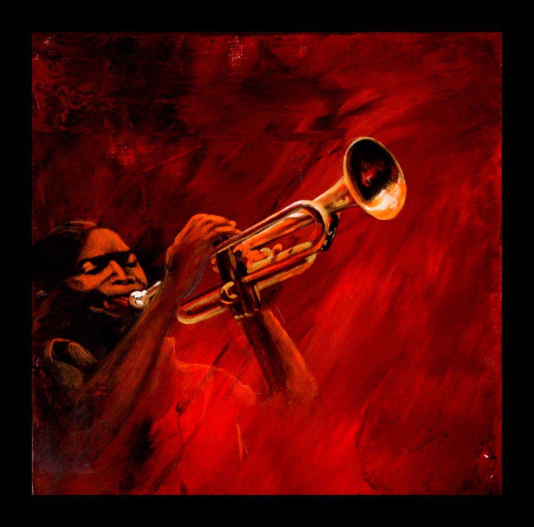 Lumières sur le trompettiste