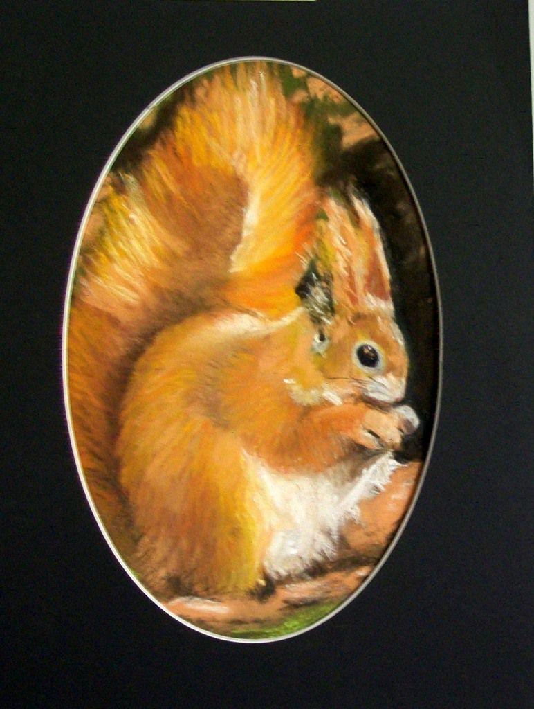 Simone Mugnier - oeuvre peinte au pastel sec -