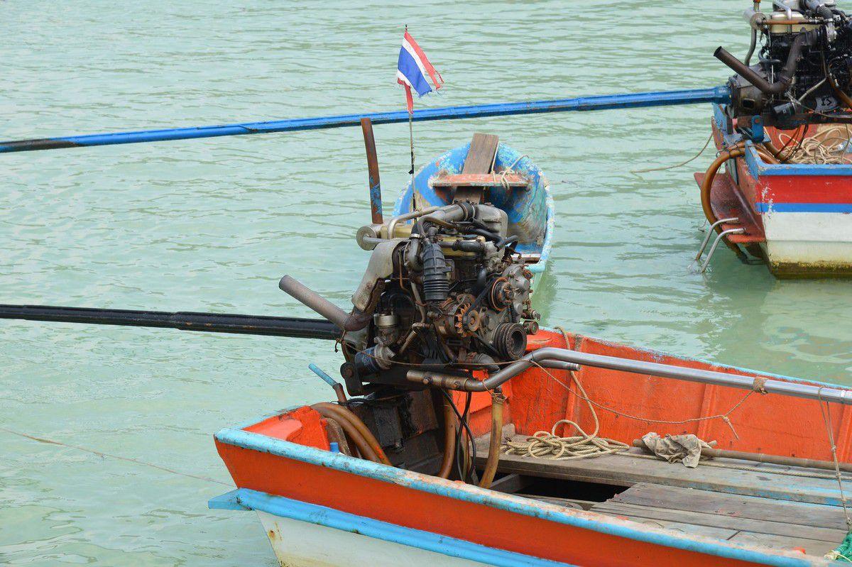 Thaïlande 2015 : Koh Phangan , Ao Thong Nai Pan Noi et Ao Thong Nai Pan Yai ...