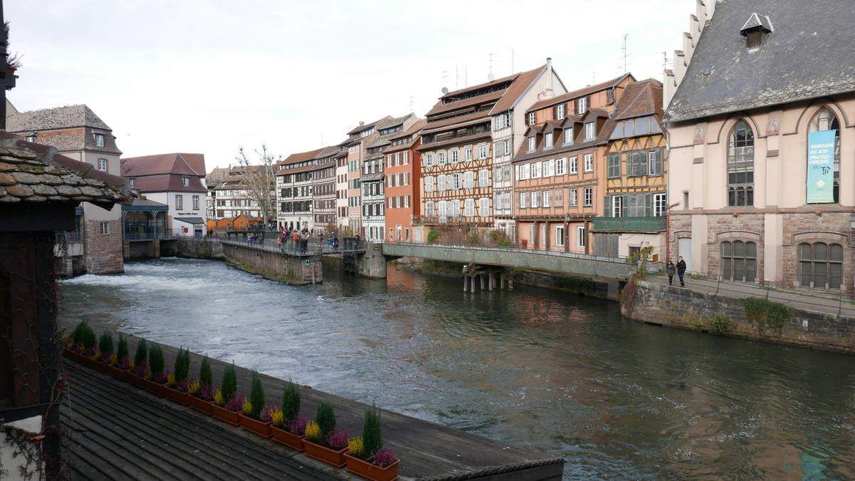 Au marché de Noël de Strasbourg ...
