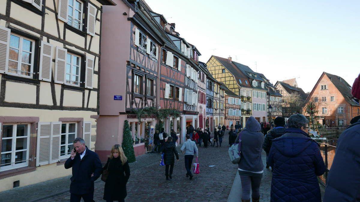 Le marché de Noël de Colmar ...