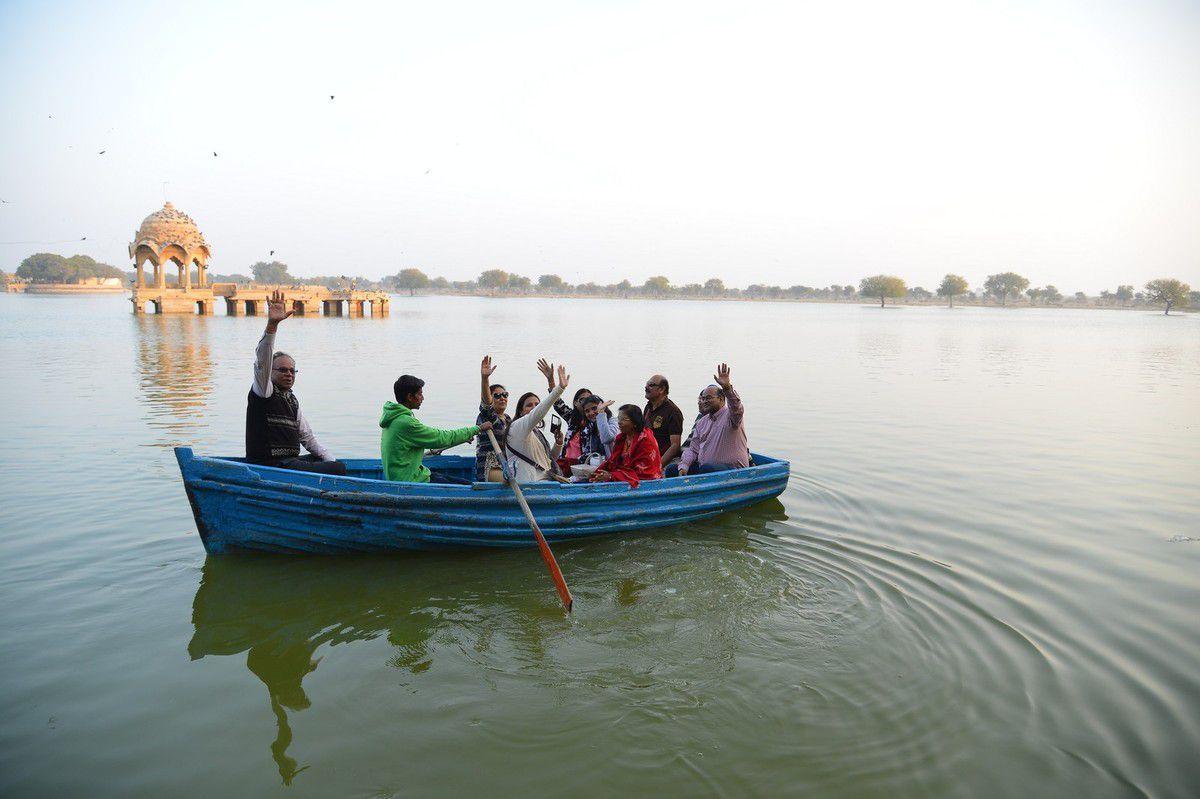 Inde 2016 : les cénotaphes royaux de Jaisalmer ...