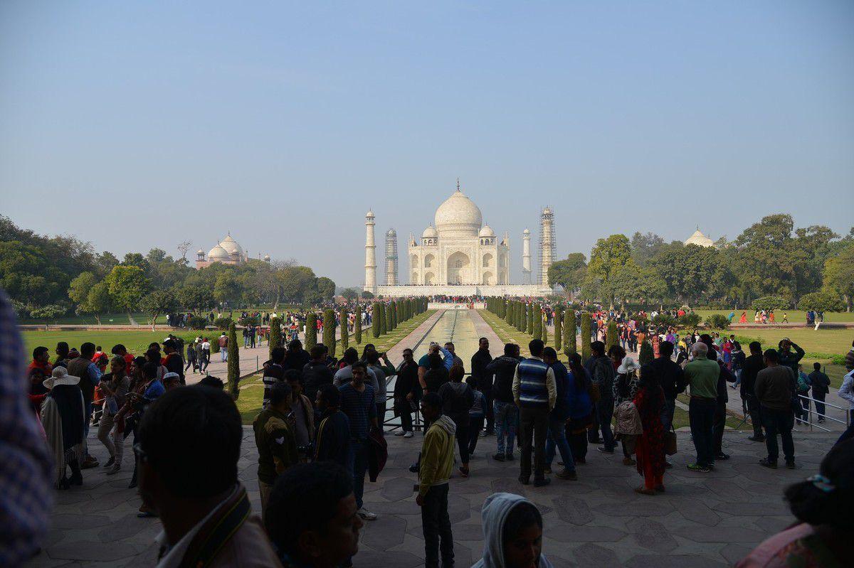 Inde 2016 : Agra , le Taj Mahal malgré tout ...