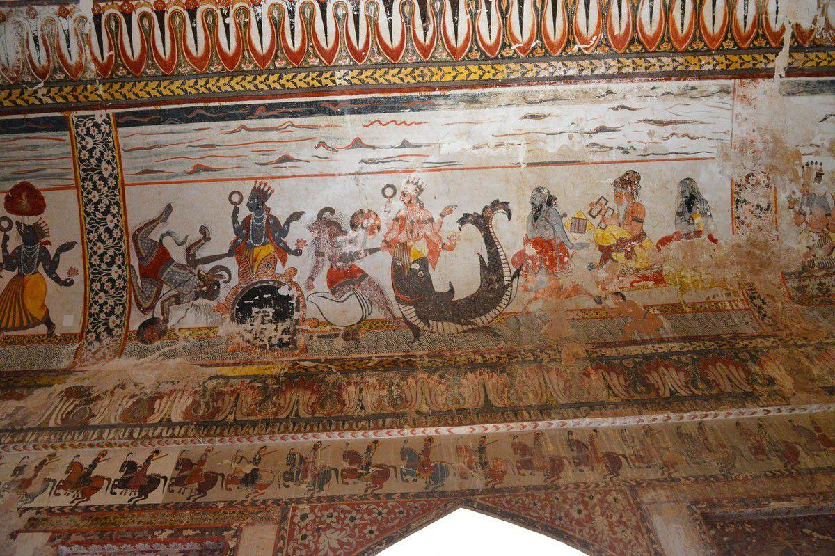 Inde 2016 : le palais d'Orchha ...