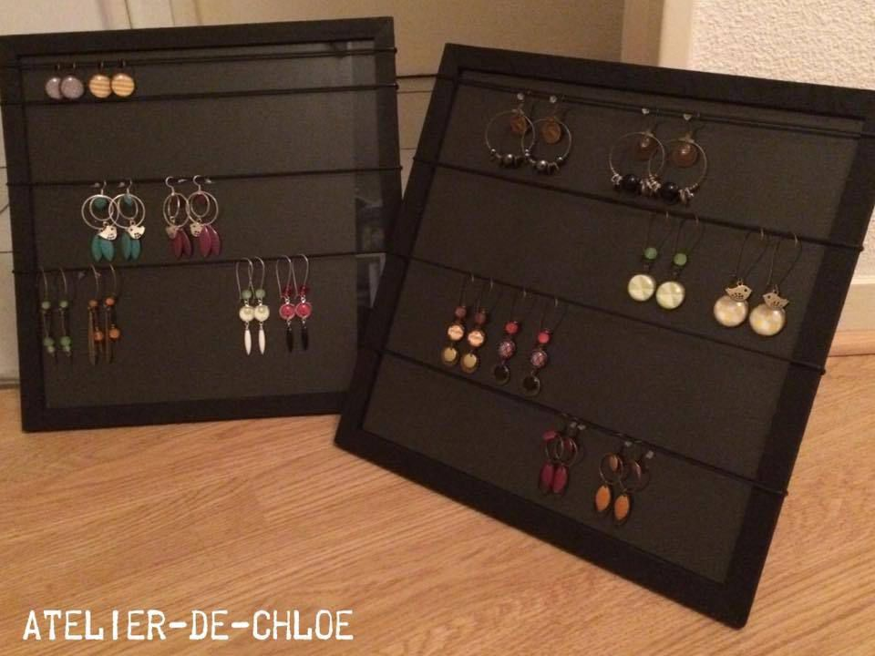 Porte-bijoux simple et pratique