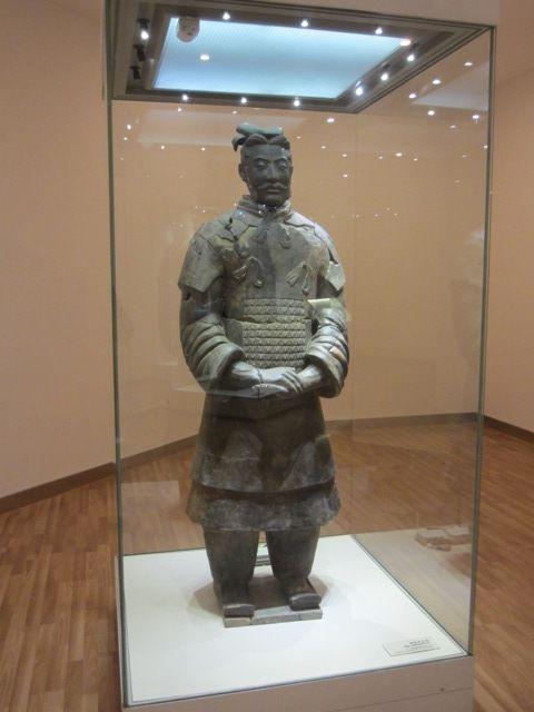 une statue originale