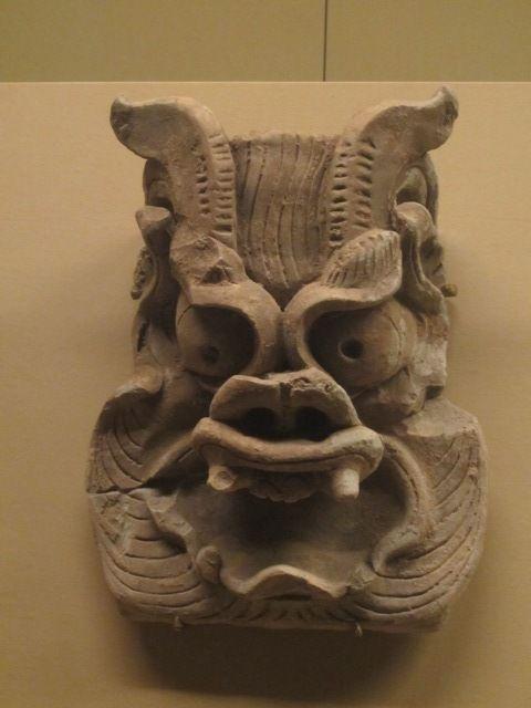 des briques au design effrayant ? (Tang Dynasty 618-907 ap JC)
