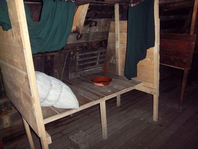 a bord du Mayflower II