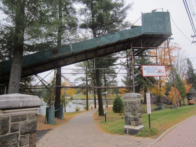 Lake Placid Toboggan Chute