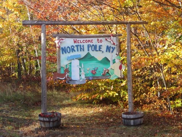 welcome to North Pole, NY