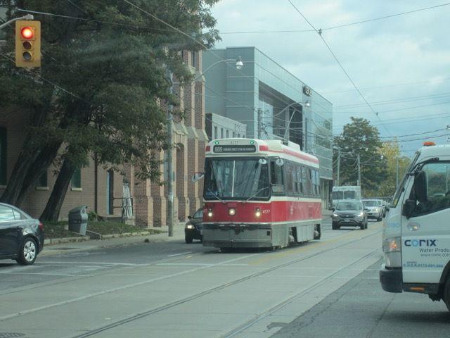 tram en circulation