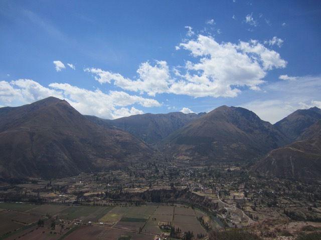 la vallée sacrée entre Urubamba et Ollantaytambo