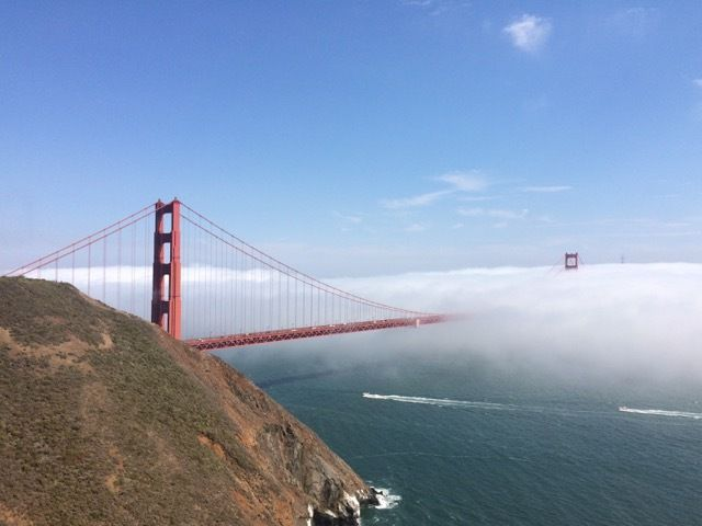 je ne verrai jamais ce pont autrement que dans la brume !