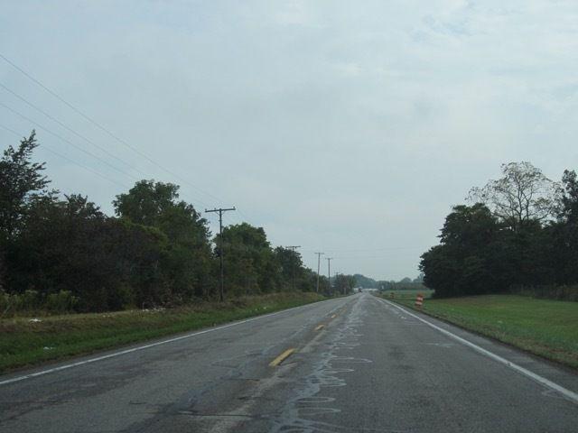 sur la route 67 de l'Indiana