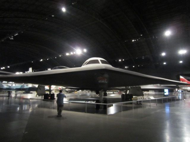 une unite de test du bombardier B-2 (toutes les unites operationnelles sont encore en activite)