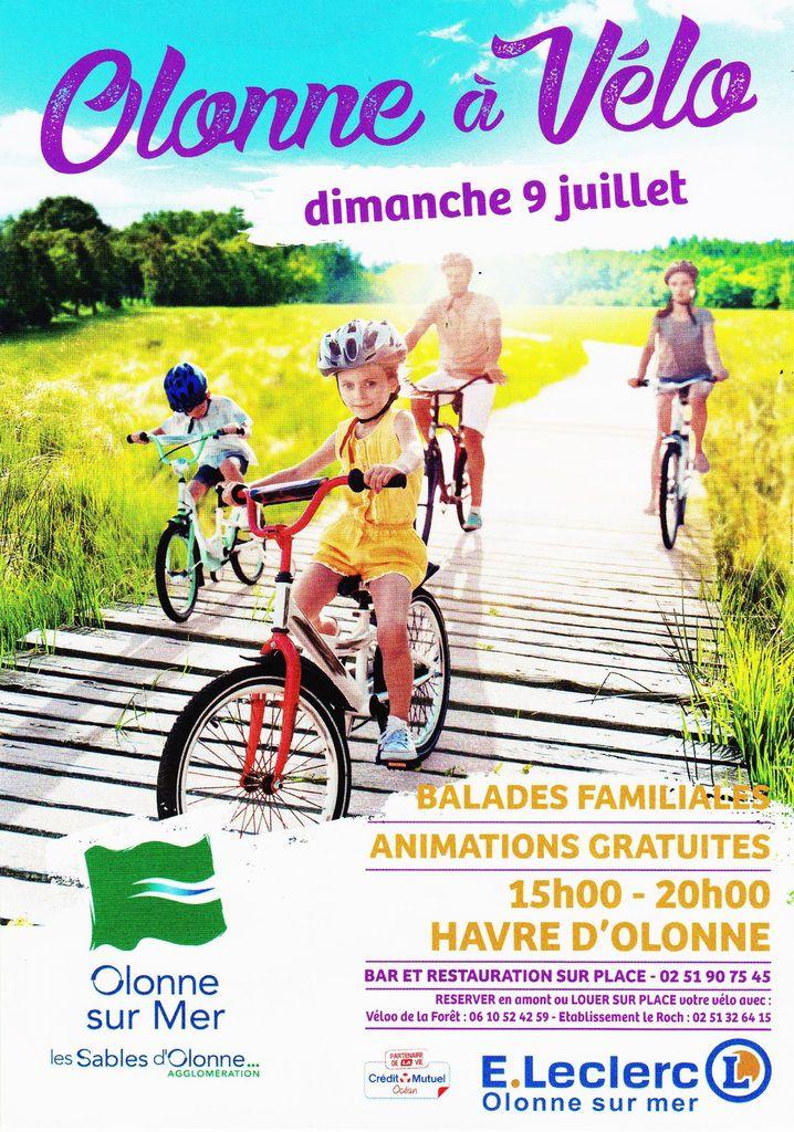 Découvrez Olonne/mer  à vélo