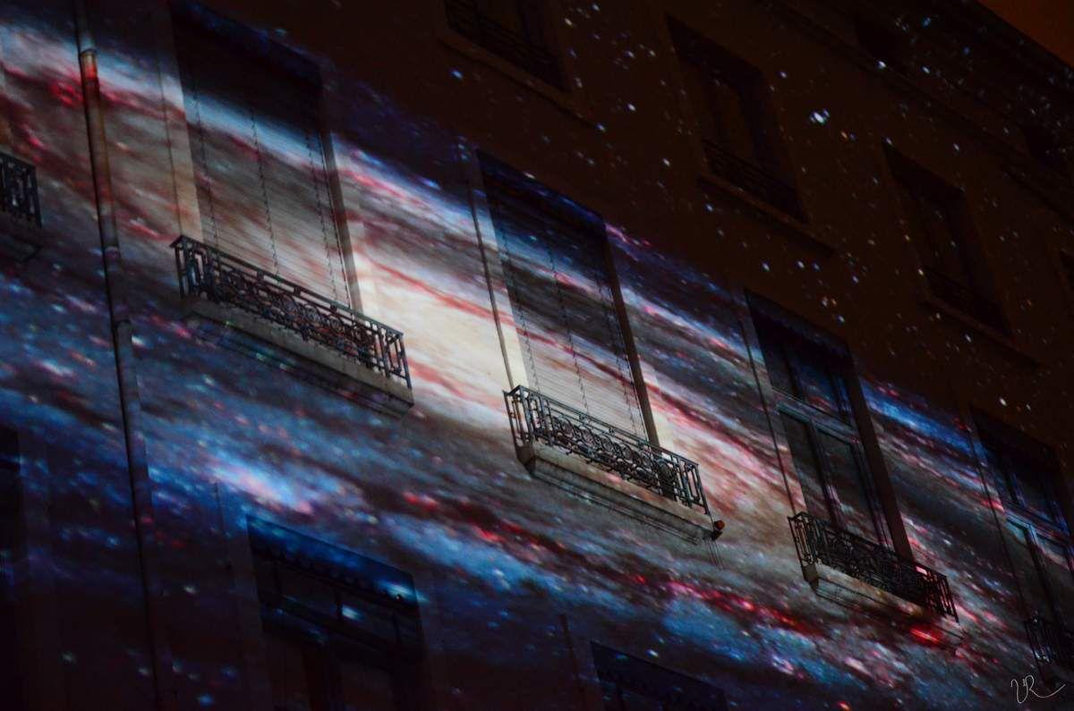 """""""L'univers à sa fenêtre"""". Laniakea - Place Antonin Poncet , Lyon 2"""