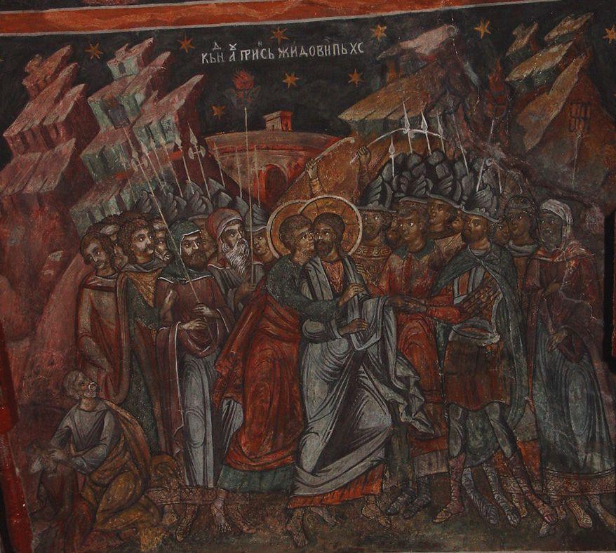 Cînd au prins jidovii pe Hristos. foto © vladimir bulat, ianuarie, 2006.