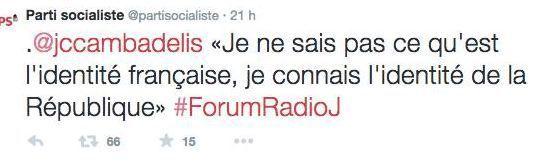 Aimez-vous la France sur Twitter?