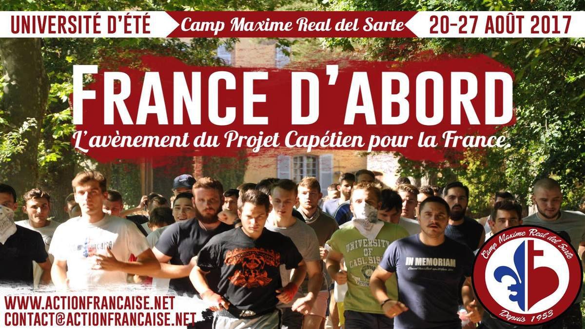 L'Université d'été de l'AF a lieu du 20 au 27 août