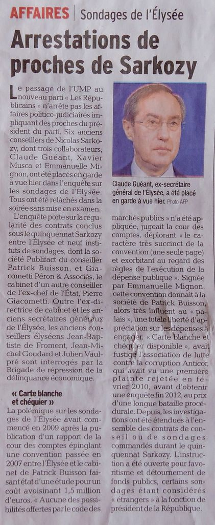 Ma petite revue de presse 05/06/2015