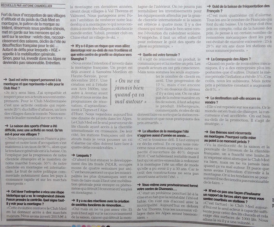 Ma petite revue de presse 10/06/2015