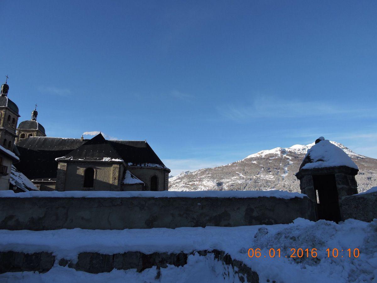 Quelques clichés d'hiver à Briançon