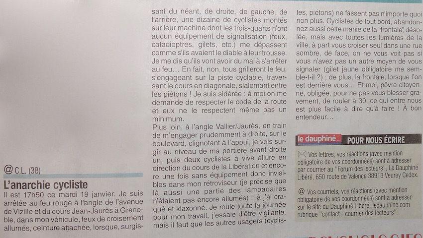 Ma petite revue de presse spéciale du 22/01/2016