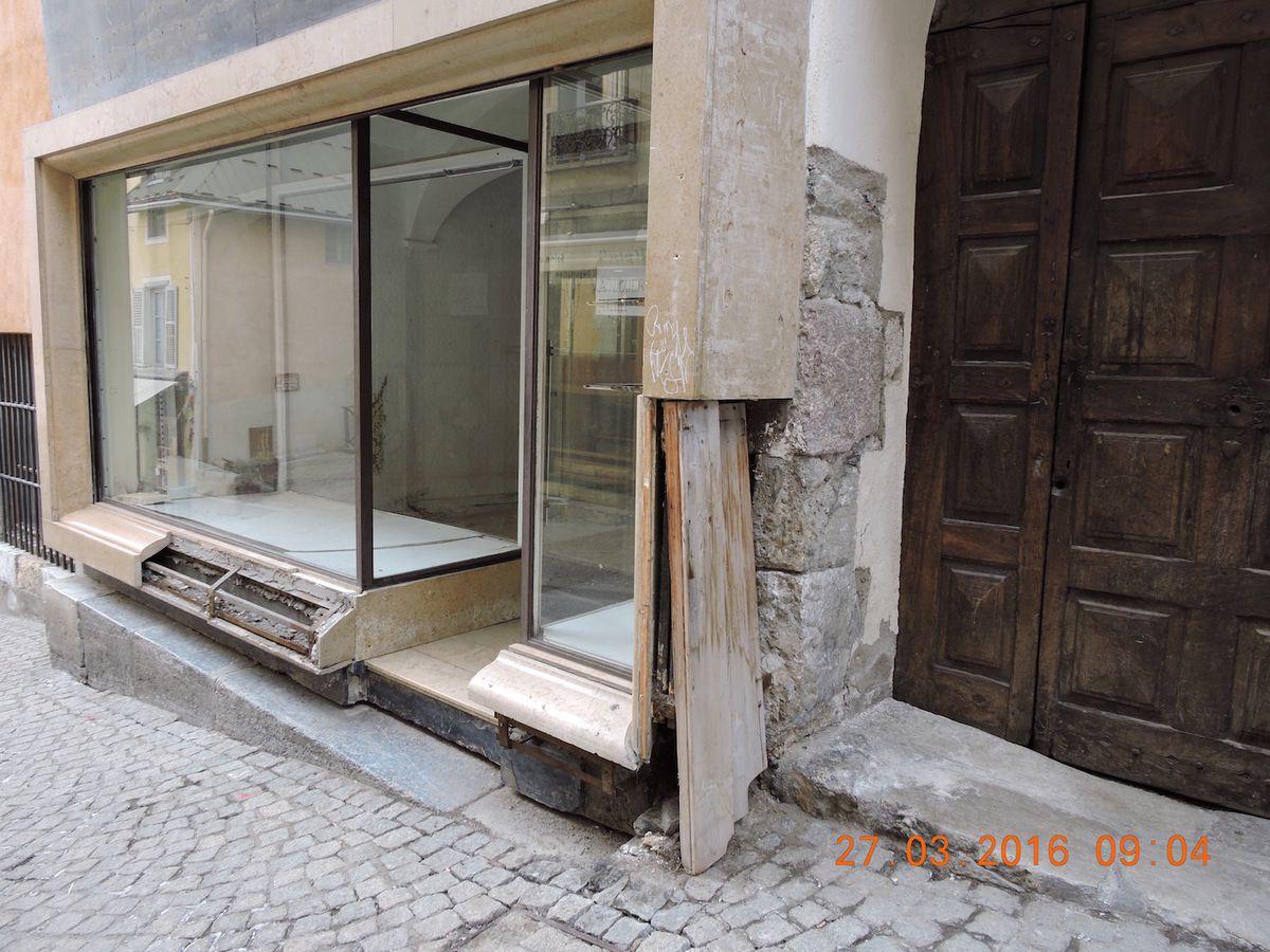 Briançon Vieille ville, Urbanisme et commerces en 2016